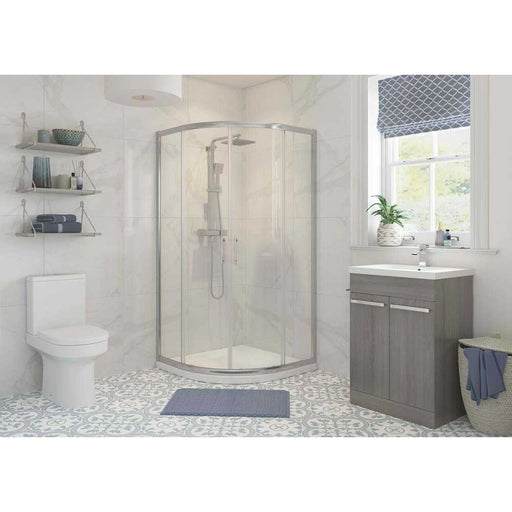 Bathrooms To Love Reflexion Classix 6mm Frammed 2 Door Quadrant Shower Enclosure - Unbeatable Bathrooms