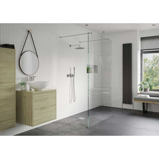 Bathrooms To Love Reflexion Iconix Walk Thru Wetroom Panel - Unbeatable Bathrooms