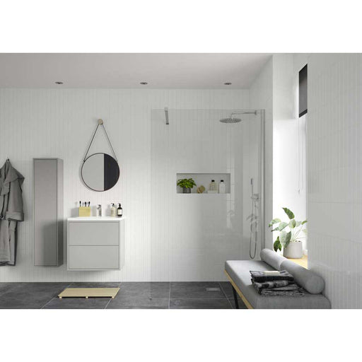 Bathrooms To Love Reflexion Iconix Wetroom Panel & Front Arm - Unbeatable Bathrooms