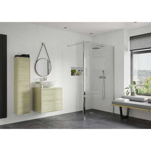 Bathrooms To Love Reflexion Iconix F/Less Wetroom Rotatable Panel - Unbeatable Bathrooms