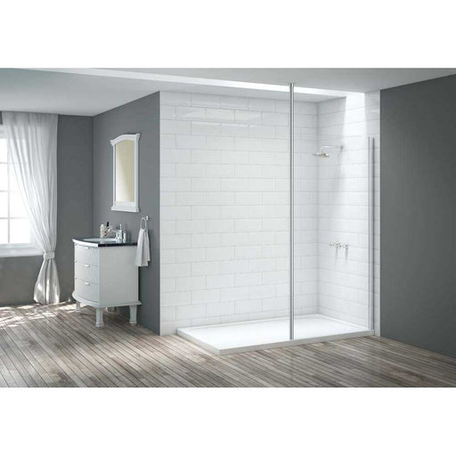 Bathrooms To Love Merlyn Vivid Six Wet Room Vertical Pole - Unbeatable Bathrooms
