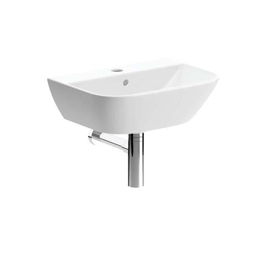 Bathrooms To Love Cedarwood 450X320mm 1TH Cloakroom Basin & Bottle Trap - Unbeatable Bathrooms