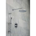 Vado Shower Valve Package of Celsius Two Outlet Thermostatic Shower Package with Slide Rail Shower Kit - Unbeatable Bathrooms