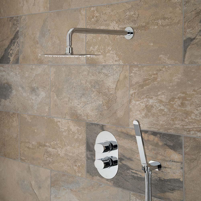 Vado Shower Valve Package of Life Two Outlet Thermostatic Shower Package with Mini Shower Kit - Unbeatable Bathrooms