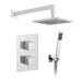 Vado Shower Valve Package of Mix Two Outlet Thermostatic Shower Package with Mini Shower Kit - Unbeatable Bathrooms