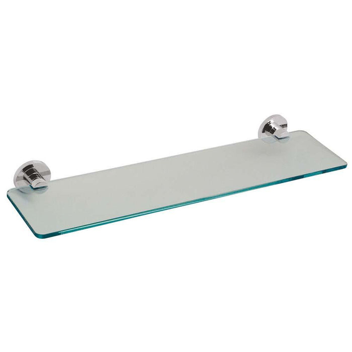 Vado Elements 558mm Frosted Glass Shelf - Unbeatable Bathrooms