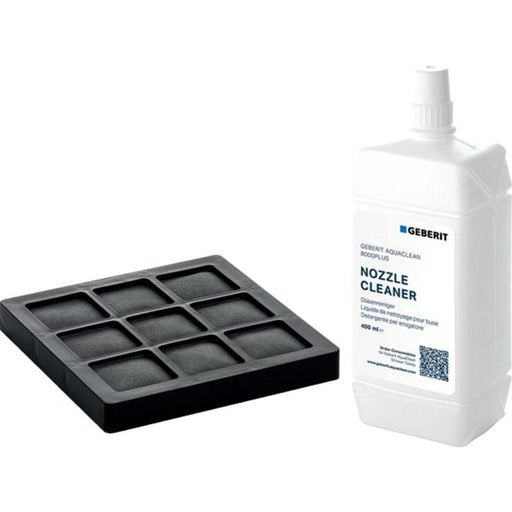 Geberit Set Of Active Carbon Filter and Nozzle Cleaner - Unbeatable Bathrooms