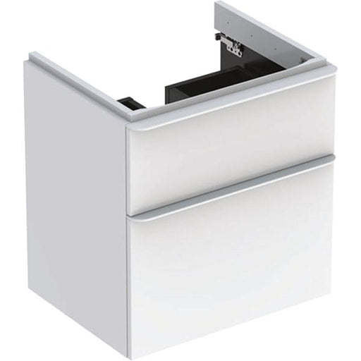 Geberit Smyle Square Washbasin Unit with Two Drawers - Unbeatable Bathrooms