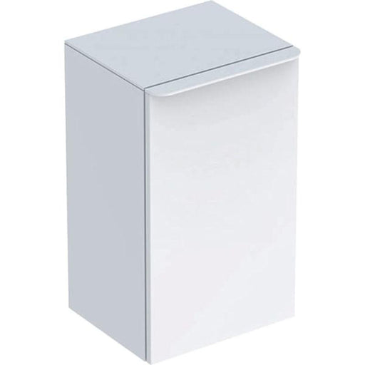 Geberit Smyle Square Low Cabinet with One Door - Unbeatable Bathrooms