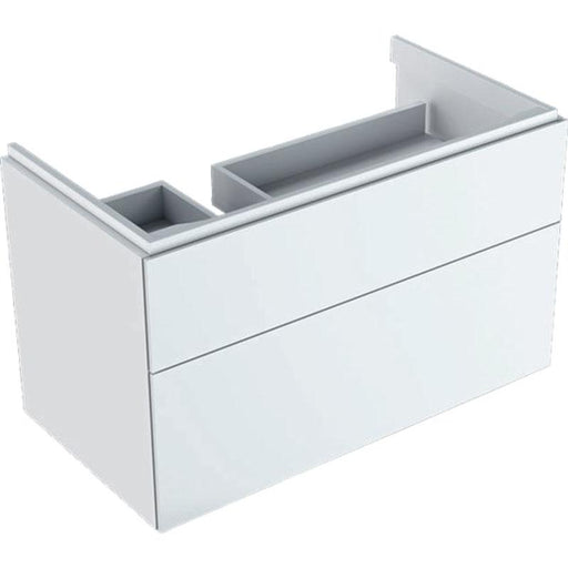 Geberit Xeno2 Cabinet for 90cm Washbasin with Shelf Surface - Unbeatable Bathrooms