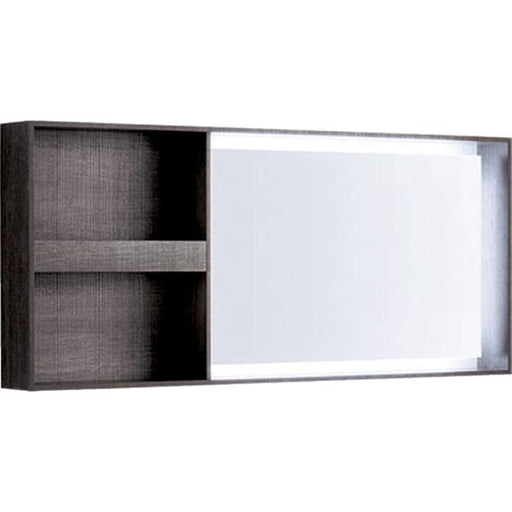 Geberit Citterio 135cm Illuminated Mirror with Storage Shelf - Unbeatable Bathrooms
