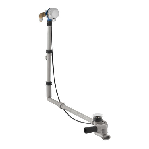 Geberit 70cm Bathtub Drain with Turn Handle Actuation and Inlet - Unbeatable Bathrooms