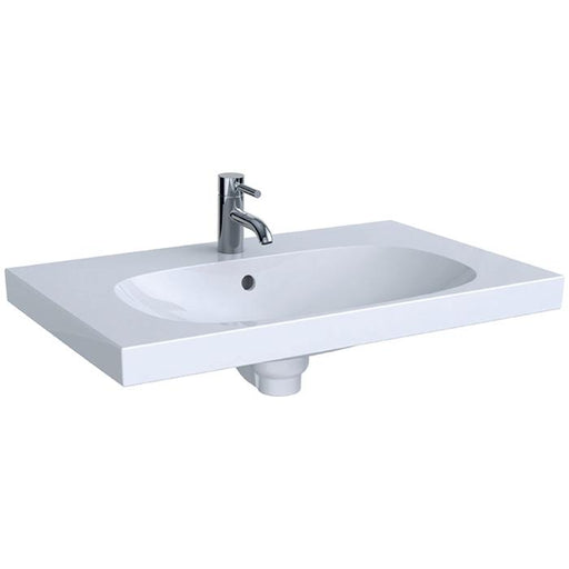 Geberit Acanto 75cm One Tap Hole Washbasin 500.622.01.1