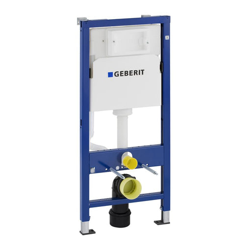 Geberit Duofix 112cm Frame for Wall Hung WC with Delta Concealed Cistern - Unbeatable Bathrooms
