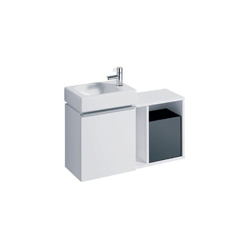 Geberit Icon Side Element with Storage Box - Unbeatable Bathrooms