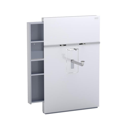 Geberit Monolith Sanitary Module for Washbasin and Deck Mounted Tap - Unbeatable Bathrooms