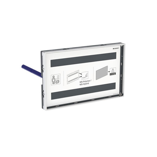 Geberit Omega Cover Plate with Sight Frame 115.088.00.1