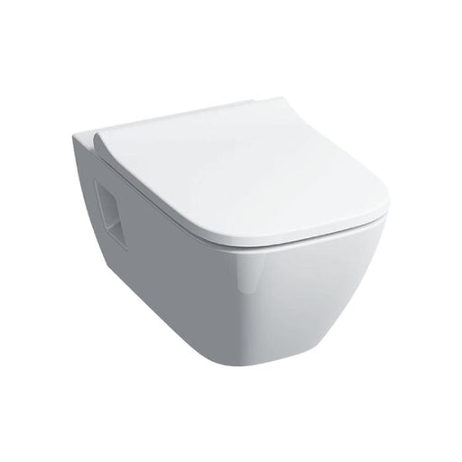 Geberit Smyle Rimfree Square Wall Hung Premium WC - Unbeatable Bathrooms