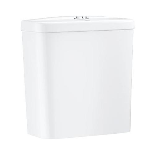 Grohe Bau Ceramic Exposed Alpine White Flushing Cistern - Unbeatable Bathrooms