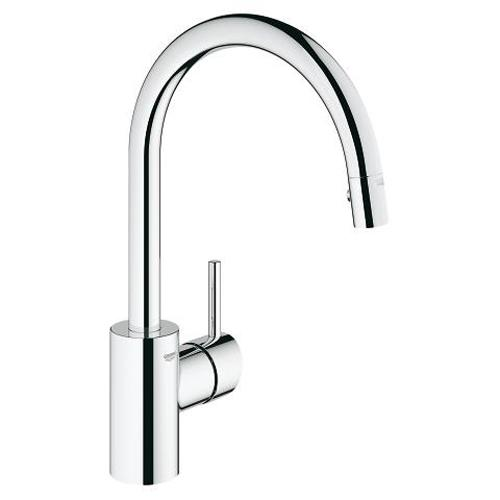 Grohe Concetto 1/2 Inch Single Lever with Two Spray Options Sink Mixer - Unbeatable Bathrooms
