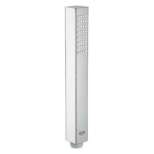 Grohe Euphoria Chrome Cube Stick Hand Shower with 1 Spray - Unbeatable Bathrooms