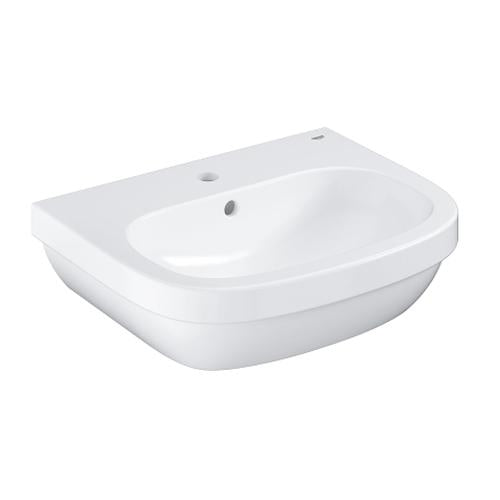 Grohe Euro Ceramic Alpine White Wash Basin - Unbeatable Bathrooms