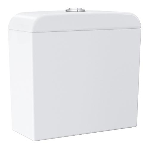Grohe Euro Ceramic Exposed Alpine White Flushing Cistern - Unbeatable Bathrooms
