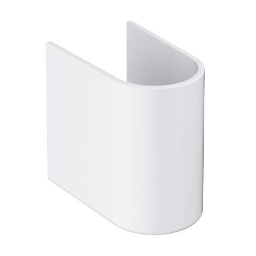 Grohe Euro Ceramic Semi Pedestal for Wash Basin - Unbeatable Bathrooms