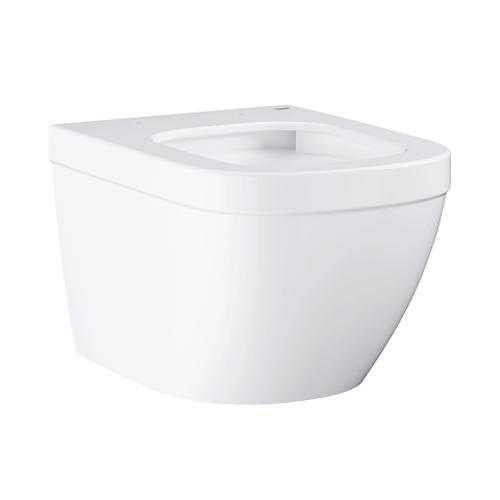 Grohe Euro Ceramic Wall Hung Compact Alpine White WC - Unbeatable Bathrooms