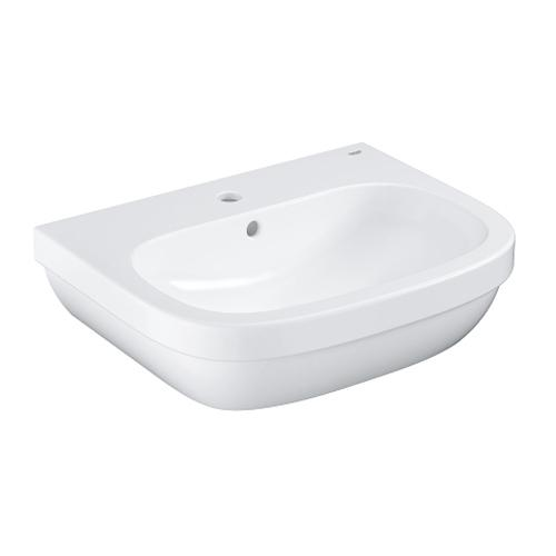 Grohe Euro Ceramic Wall-Mounted Wash Basin - Unbeatable Bathrooms