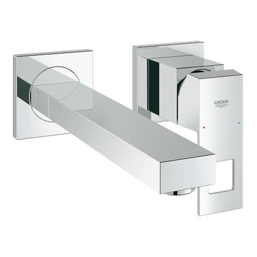 Grohe Eurocube 2 Hole Medium Size Basin Mixer - Unbeatable Bathrooms