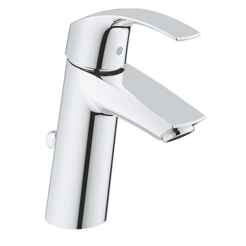 Grohe Eurosmart 1/2 Inch Medium Size Chrome Basin Mixer - Unbeatable Bathrooms