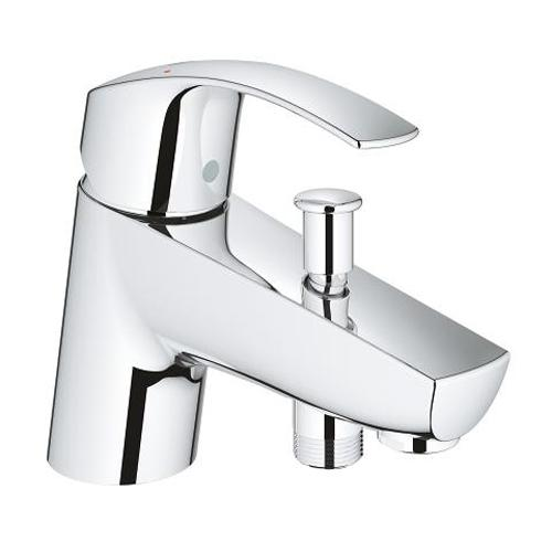 Grohe Eurosmart 1/2 Inch Single Lever Bath or Shower Mixer - Unbeatable Bathrooms