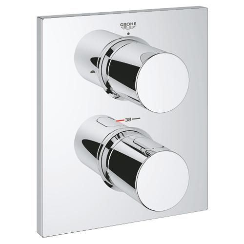 Grohe Grohtherm F Thermostatic Trim with Integrated 2 Way Diverter - Unbeatable Bathrooms