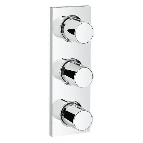 Grohe Grohtherm F Triple Volume Control Trim - Unbeatable Bathrooms