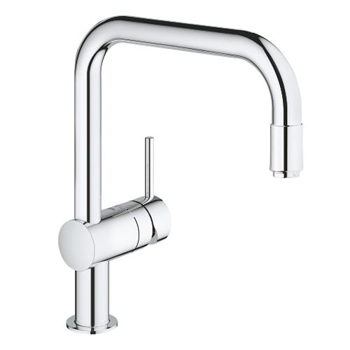 Grohe Minta 1/2 Inch L Shaped Single Lever Sink Mixer - Unbeatable Bathrooms