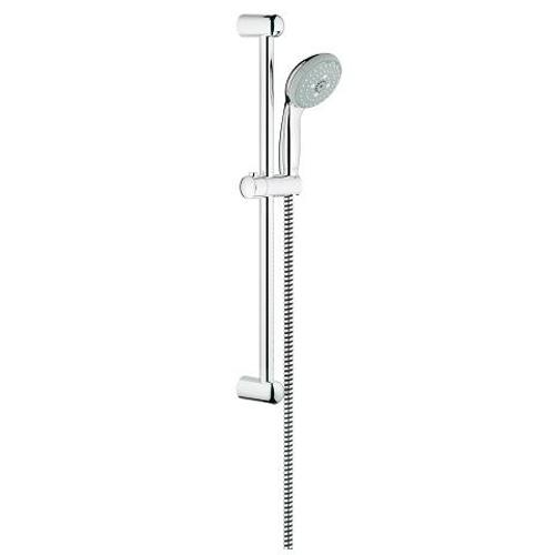 Grohe New Tempesta Chrome Shower Rail Set with 3 Sprays and Super-Insulated Water Guide Channels - Unbeatable Bathrooms