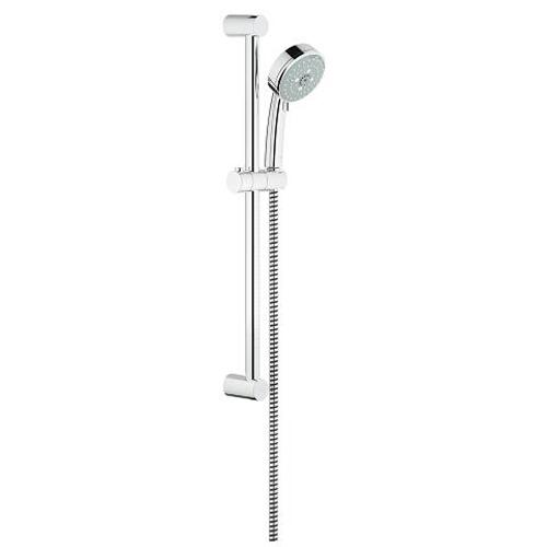 Grohe New Tempesta Cosmopolitan Shower Rail Set with 3 Sprays - Unbeatable Bathrooms