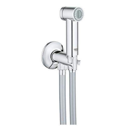 Grohe Sena Trigger Spray Wall Holder Set with Angle Valve and 1 Spray - Unbeatable Bathrooms