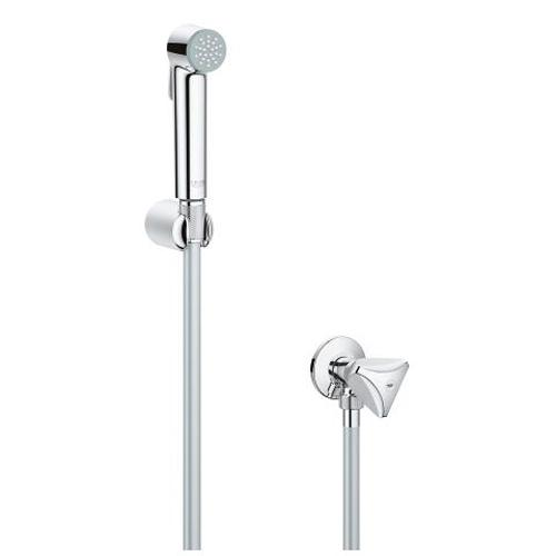 Grohe Tempesta F Trigger Spray Wall Holder Set with Angle Valve and 1 Spray - Unbeatable Bathrooms
