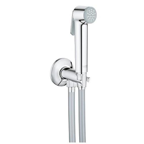 Grohe Tempesta F Trigger Spray Wall Holder Set with Self Closing Angle Valve and 1 Spray - Unbeatable Bathrooms