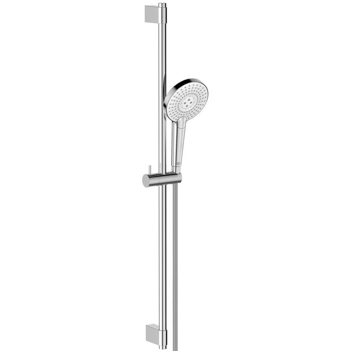 Ideal Standard Idealrain Evo Jet shower kit with 3 Function 125mm handspray, 900mm rail and 1.75m IdealFlex hose - Unbeatable Bathrooms