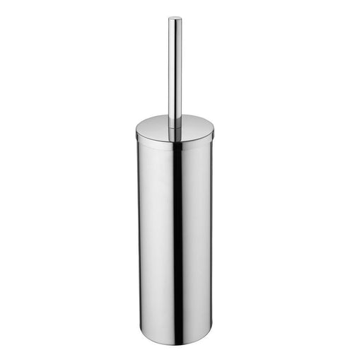 Ideal Standard IOM floor standing toilet brush and holder - stainless steel - Unbeatable Bathrooms