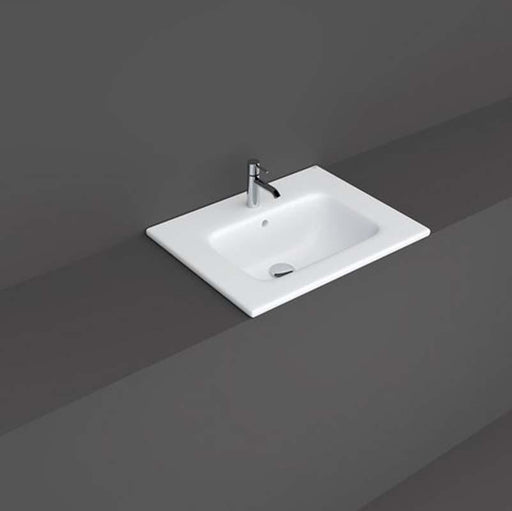 Rak Joy Drop In Wash Basin One Taphole - Unbeatable Bathrooms