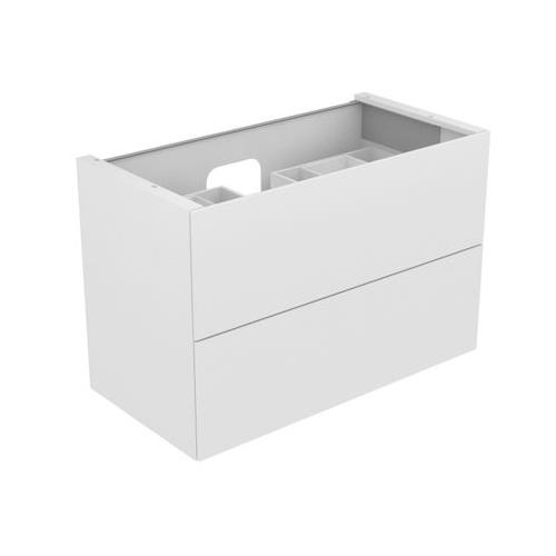 Keuco Edition 11 Vanity Unit with 2 Front Pull-Outs and Lighting 31352 - Unbeatable Bathrooms