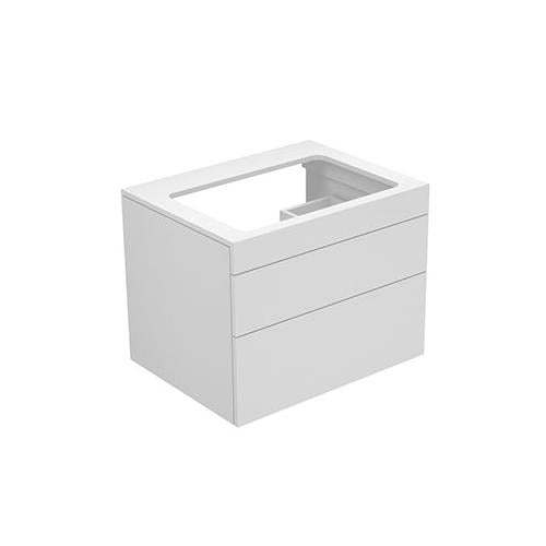 Keuco Edition 400 Vanity Unit with Push-to-Open Mechanism 31571 - Unbeatable Bathrooms