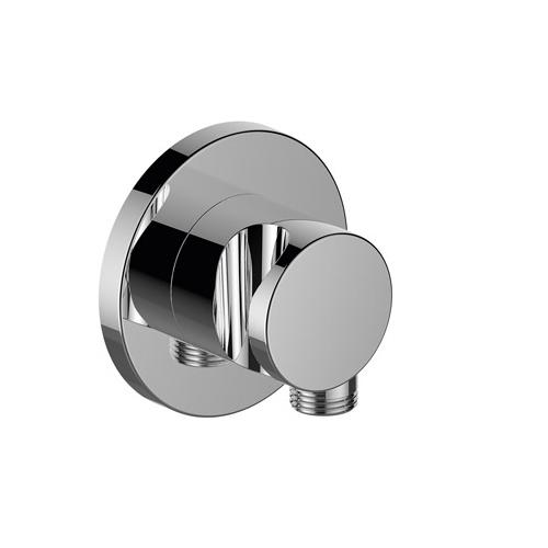 Keuco Ixmo Chrome-Plated Wall Outlet for Shower Hose with Hand Shower Bracket 59592 - Unbeatable Bathrooms