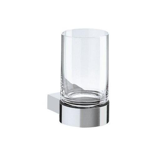 Keuco Plan Tumbler Holder with Crystal Glass Tumbler 14950 14950079000