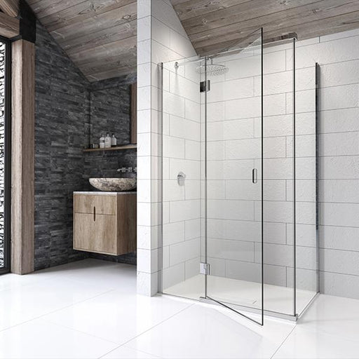 Kudos Pinnacle8 Hinged Door for Corner - Unbeatable Bathrooms