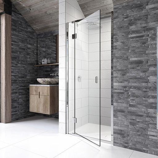 Kudos Pinnacle8 Hinged Door for Recess - Unbeatable Bathrooms